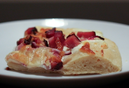 hungarian owen baked pizza bread toki pompos