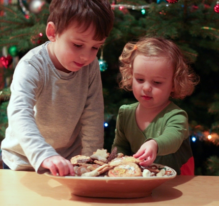 christmas cookies kids test them