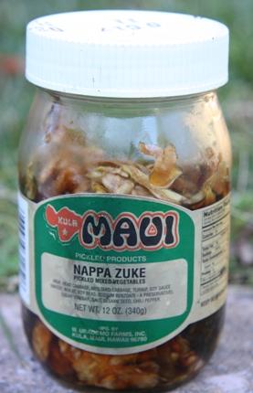 napa zuke from maui